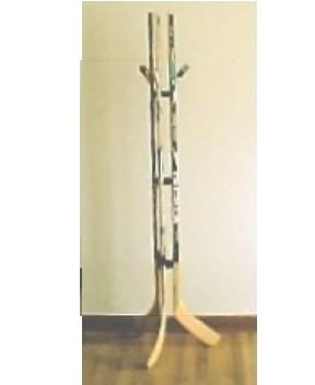 Full Size Hockey Stick Coat Rack.JPG (11129 Bytes)